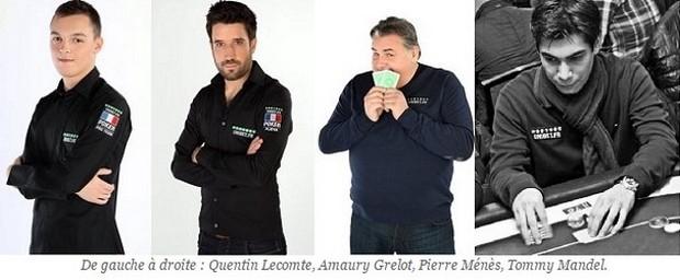 Découvrez les 4 joueurs de poker de la Team Unibet