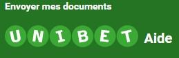 Unibet : comment envoyer vos documents pour valider votre compte