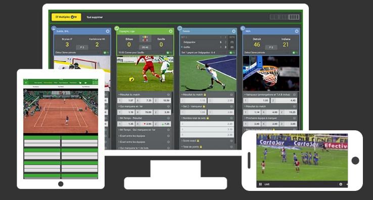 Regardez le foot en direct avec l'Unibet TV