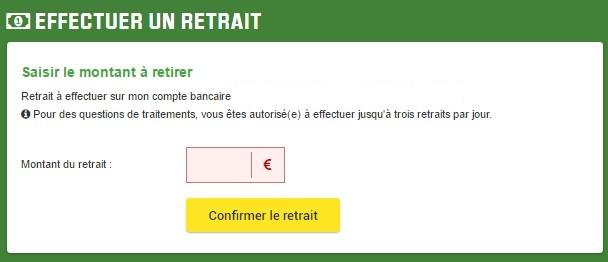 Découvrez comment retirer votre argent de votre compte Unibet