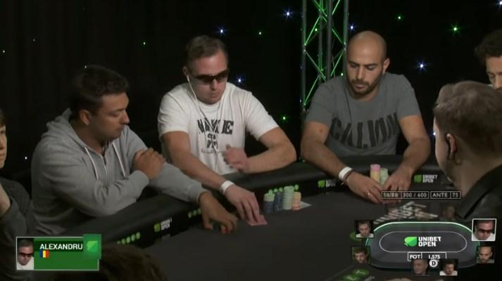 tournoi poker Unibet Open