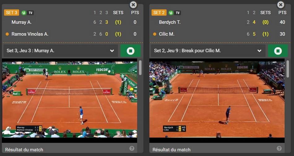 Misez sur wimbledon et Roland-Garros avec Unibet