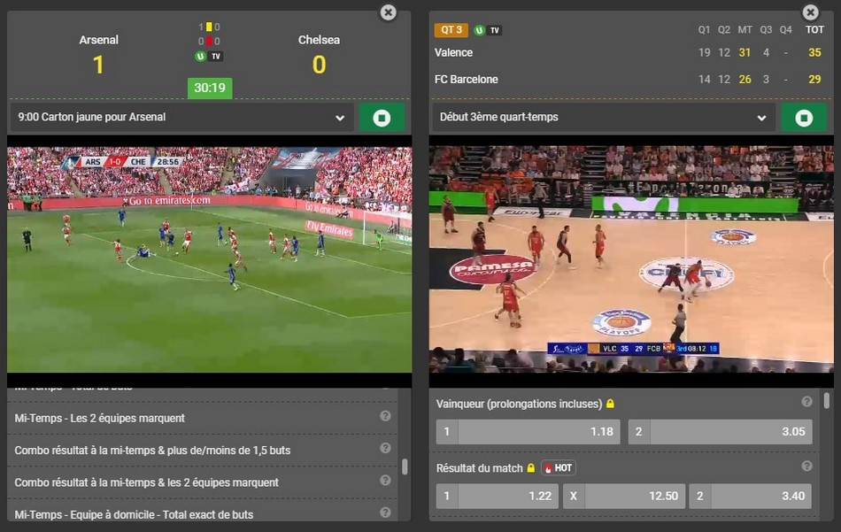 Unibet football parier